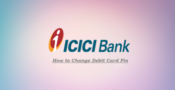 ICICI Debit Card Pin