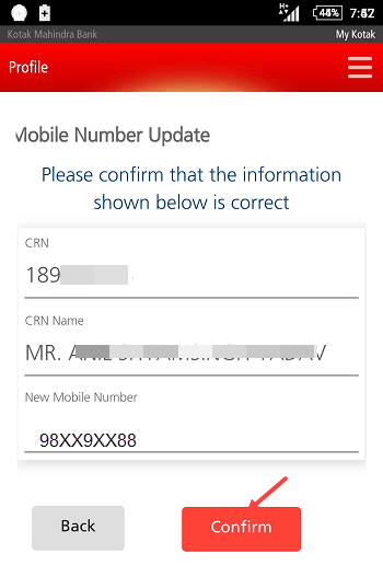 MObile Number Conformation