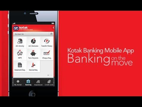 Kotak Mahindra Mobile Banking – How to Change Mobile Number?
