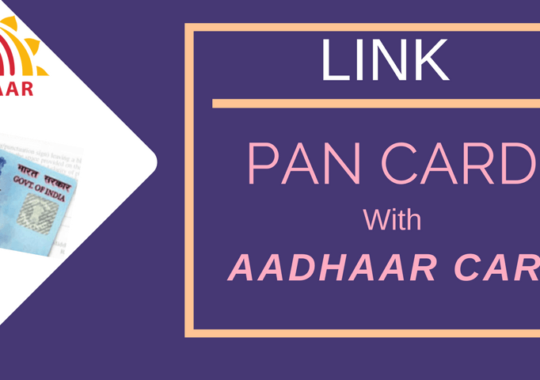 How to Link your Aadhaar Card with PAN Card Online?