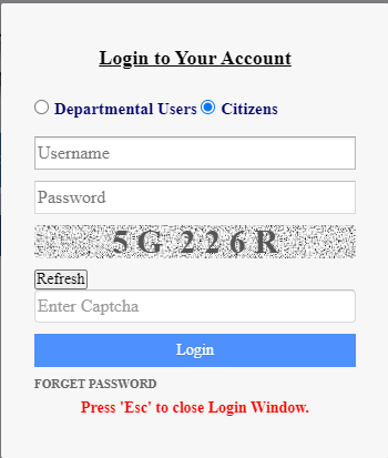Banglarbhumi.gov.in land records login
