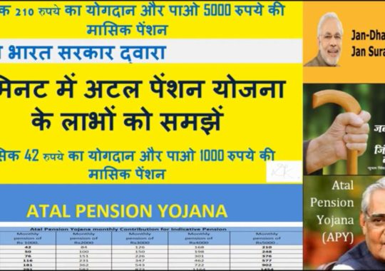 Atal Pension Yojana (APY) – Know Scheme Details and Apply for APY