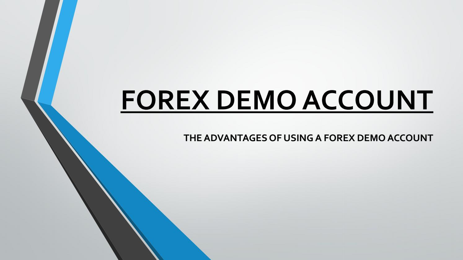 Five Important use of the Forex Demo Account