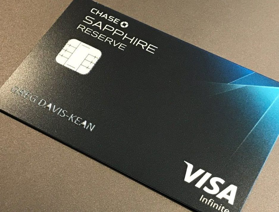 Chase Sapphire Reserve Credit Card Benefits