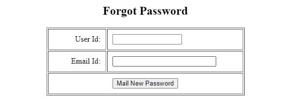 Reset LIC Merchant Login Password