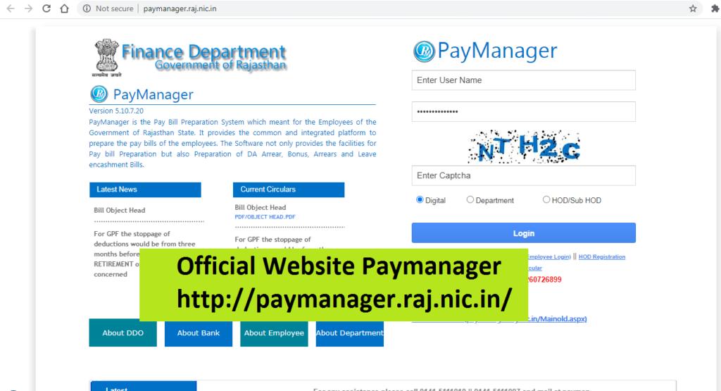 Paymanager Login